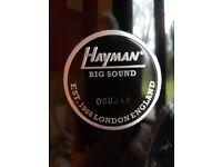 Hayman Retro Drums in as new condition