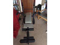 York B501 Fitness Folding Bench