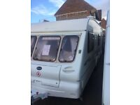 bailey ranger 550/6 2002 6 berth with full awing
