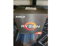 AMD ryzen 5 5600x CPU with wraith processor cooler