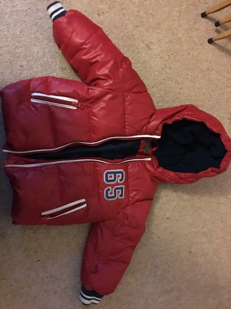 Lovely red puffa in good condition