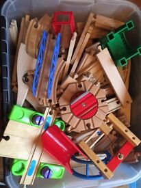 Huge lot of Brio Train track and extras