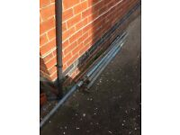 Scrap metal, scaffold poles