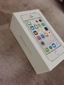 iPhone 5s box only and brand new apple iphones