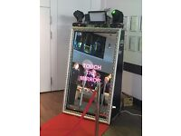 Magic Selfie Mirror Hire - Weddings, Parties, Events - Better than a Photobooth!