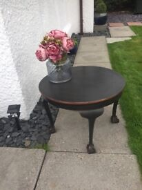 Claw foot occasional table open to offers