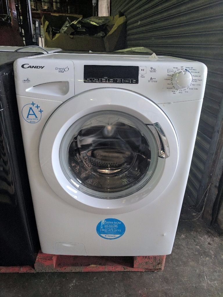 New Graded Candy Washing Machine (9kg12 Month Warrantyin Liverpool City Centre, MerseysideGumtree - Candy GrandO Vita GV1410T3W 9Kg Washing Machine with 1400 rpm White Our New Graded stock are either New and Unused, 28 Day Return or Ex Display. This model is currently selling for £279 at Currys, Argos and John Lewis Save yourself £90. New Graded...