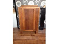 vintage walnut cupboard