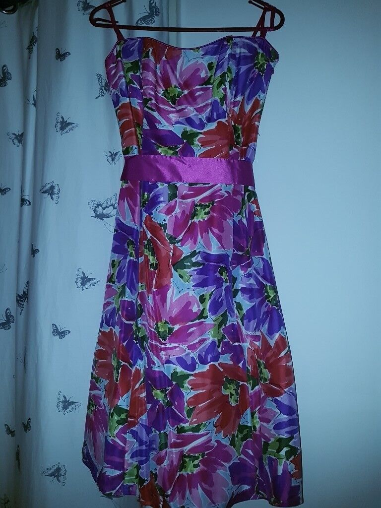 Gorgeous silk strapless dress from Debenhams Special Occasions. Net ...