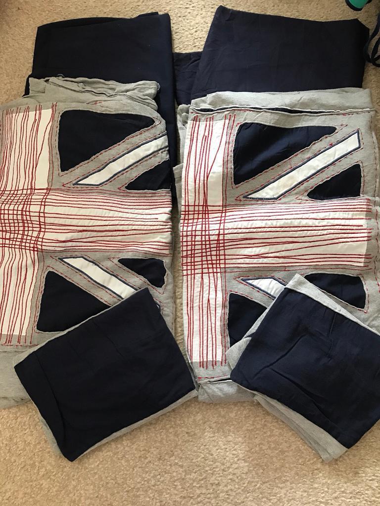 Next children's jersey bedding x2