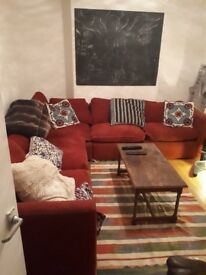 Big L Shaped Duckdown Feather Sofa for sale! Oval/Camberwell - London