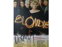 Blondie Debbie Harry Signed With COA
