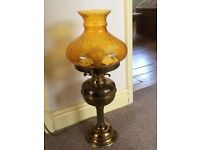 Reproduction electric converted oil lamp