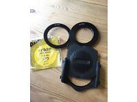 Cokin, P series filter holder and adaptor rings.