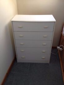 Children's wardrobe and chest of drawers set