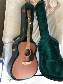 Martin J-15 All mahogany jumbo k&k pickup Hsc BHF
