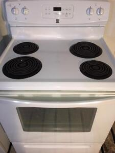 Kenmore White Stove/Range, FREE WARRANTY, Delivery Available
