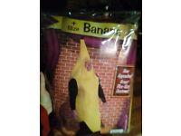 Xxl banana fancy dress costume