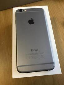 iPhone 6 16gb space grey Good condition