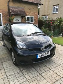 toyota aygo for sale, black edition, in great condition