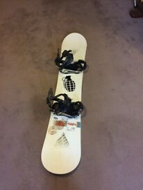 Ride Snowboard 159cm With Bindings For Sale