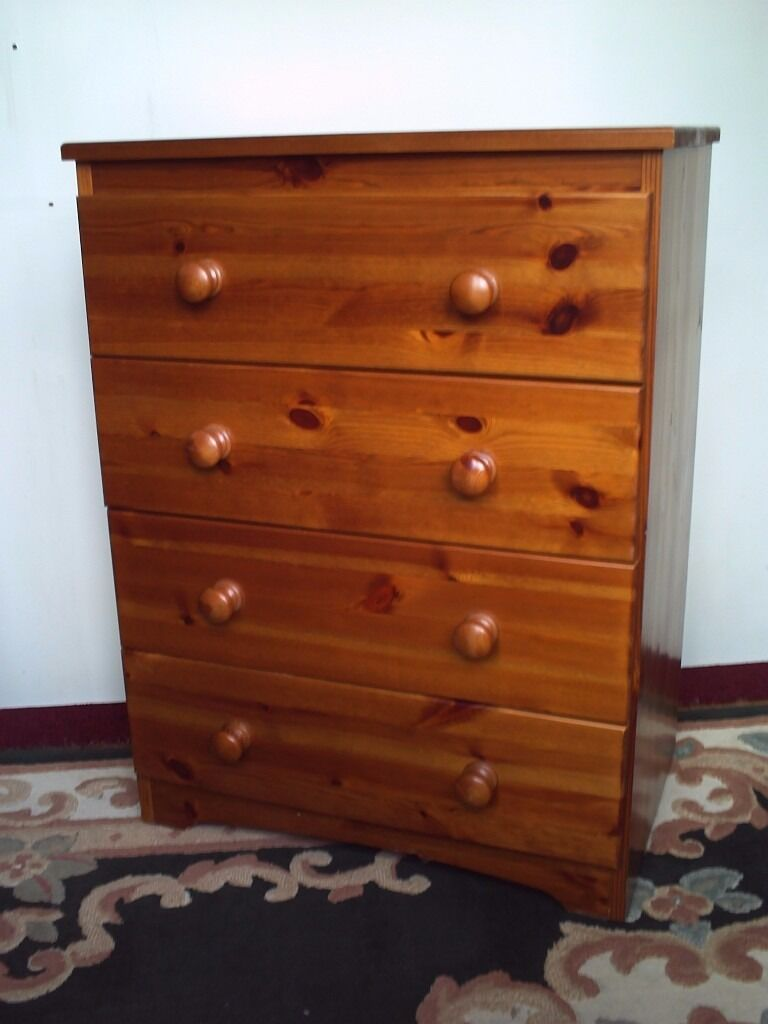 Pair Pine Chest Drawers In Newtown Powys Gumtree