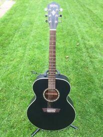 Washburn jumbo acoustic guitar