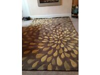 Large rug . Almost new .from smoke and pet free home
