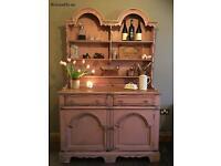 Rustic wooden dresser