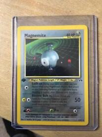 1st Edition pokemon cards old wotc