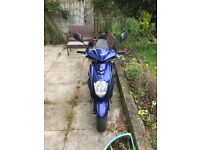 Sym symply 50cc scooter good condition new plastics starts first time