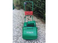 Qualcast classic electric cylinder lawnmower