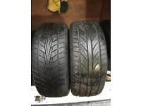 2x 215 45 17 primewell & duro tyres 8mm no repairs FREE FITTING card payment accepted
