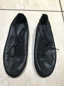 Girls Dance Jazz shoes black
