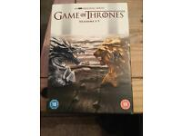 GAME OF THRONES, SERIES 1to7