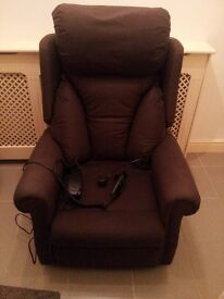 Rise recliner armchair for sale