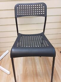 Black set of chairs in mint condition!!!!!