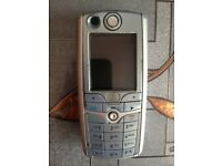 Motorola C975 Mobile Phone, silver, 3 network.