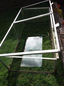 Galvanised cold frame