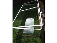 Galvanised cold frame