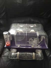Hamster mouse cage