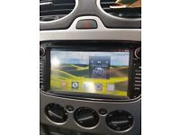 Ford in car dvd player and sat nav mp3