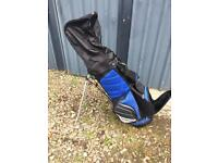 Dunlop double strap stand golf bag