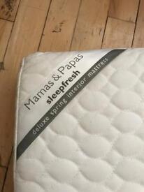 Mamas and Papas Sleepfresh Deluxe Spring for mattress 127x62cm