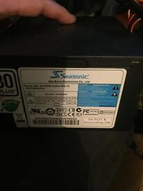 Sea sonic 550 w psu for pc high power for gaming