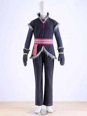 Frozen Kristoff gefroren Königin Halloween cosplay Kostüm Kleidung costume