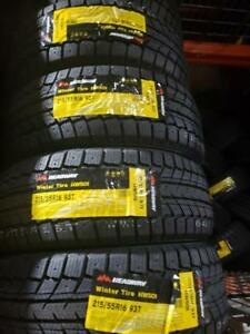 4 winter tires headway 215/55r16 new