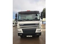 AUTO DAF TIPPER 8X4 MOT UNTIL SEPTEMBER 2017, GOOD CONDITION, 80% TYRE