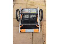 Halfords cycle / bike trailer / carrier