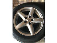 "Alloy wheels 16"" for Vauxhall including tyres 215/55/R16 V - full set"